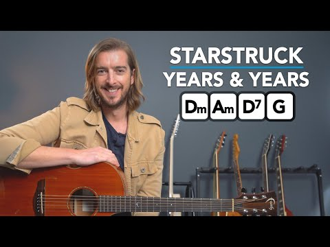 Starstruck - Years & Years Acoustic Guitar Lesson - EASY Chords