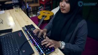 Sades Excalibur Fullsize RGB Gaming Keyboard