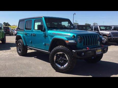 2019 Jeep WRANGLER UNLIMITED Rubicon Elk Grove Sacramento Roseville Folsom Rocklin