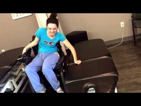 Transfer w/no Sliderboard C5 C6 Incomplete Quadriplegic