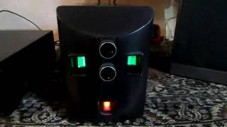 Ламповый усилитель с акустикой Корвет