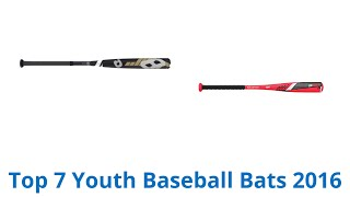 7 Best Youth Baseball Bats 2016