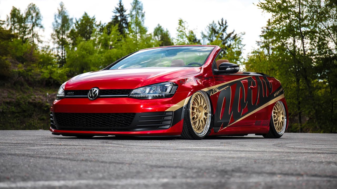vw golf mk7 cabrio aocw vwhome youtube