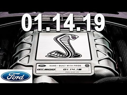 Shelby GT500 LAUNCHES 01.14.19 - FORD PERFORMANCE NEWS