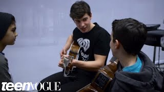 Shawn Mendes Surprises Two Fans and Performs for Them | Teen Vogue