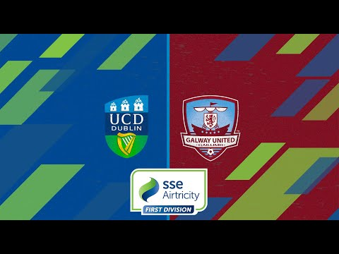 First Division GW14: UCD 0-2 Galway United
