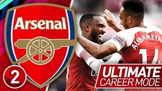 FIFA 19 ARSENAL CAREER MODE #2 | DREAM PARTERNSHIP! (ULTIMATE DIFFICULTY)