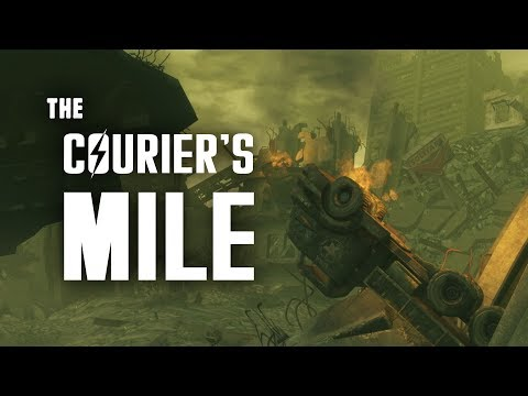 Lonesome Road Part 8: The Courier's Mile - Fallout New Vegas Lore