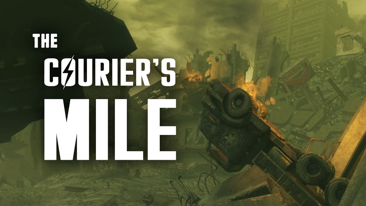 Lonesome Road Part 8: The Courier\'s Mile - Fallout New Vegas Lore