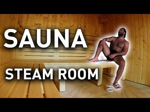 SAUNA And STEAM ROOM - Benefits And Precautions