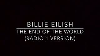 The End of The World (Piano Karaoke Instrumental) Billie Eilish (Rob Dickinson Cover)