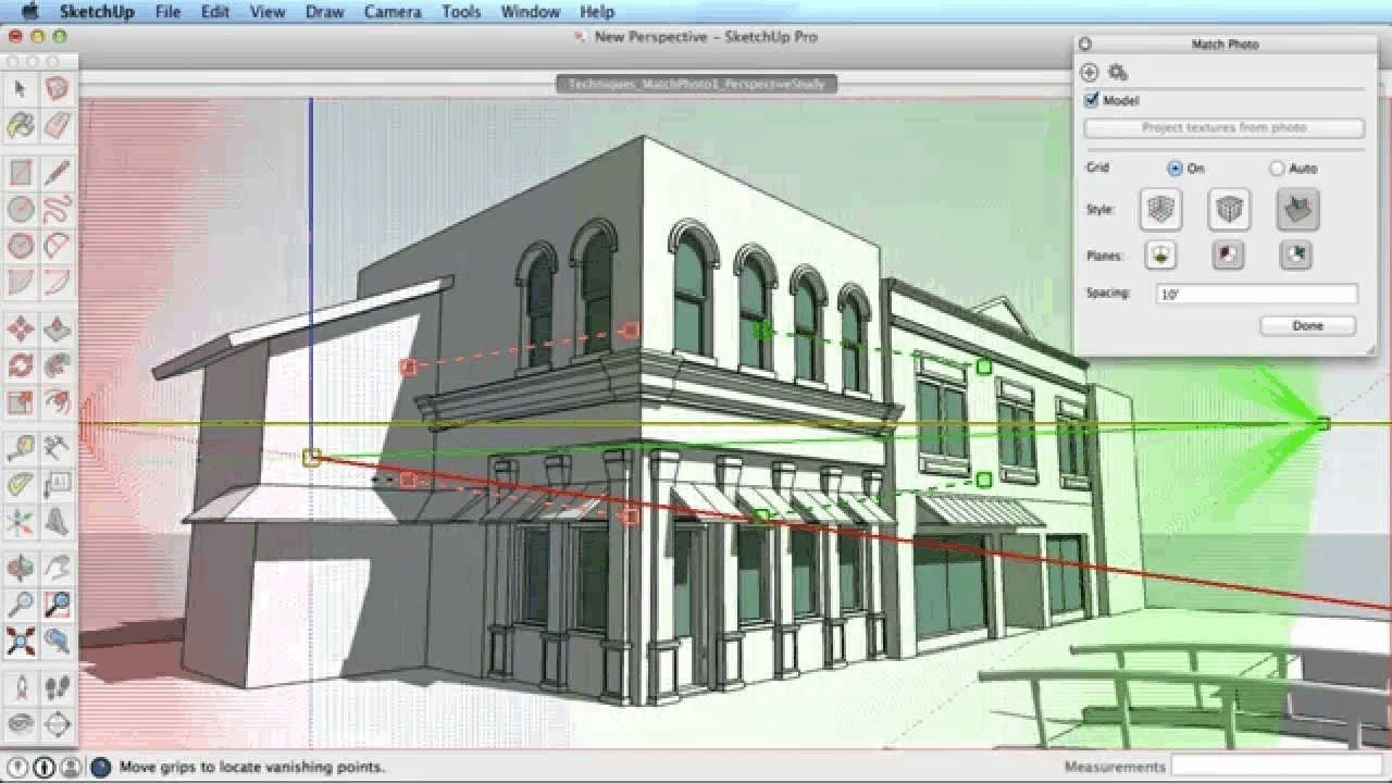 Sketchup match photo exterior modeling (tutorial) youtube.
