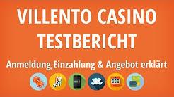 Villento Casino Testbericht: Anmeldung & Einzahlung erklärt [4K]