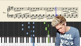 Niall Horan - This Town - Piano Tutorial + SHEETS