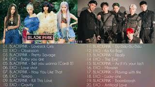 BLACKPINK & EXO - Playlist 2020