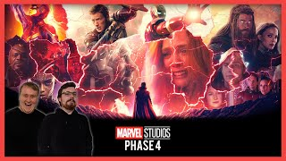 Marvel Phase 4 Trailer Reactions ft. Black Panther Wakanda Forever & The Marvels!