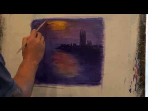 Monet in acrylic part 2
