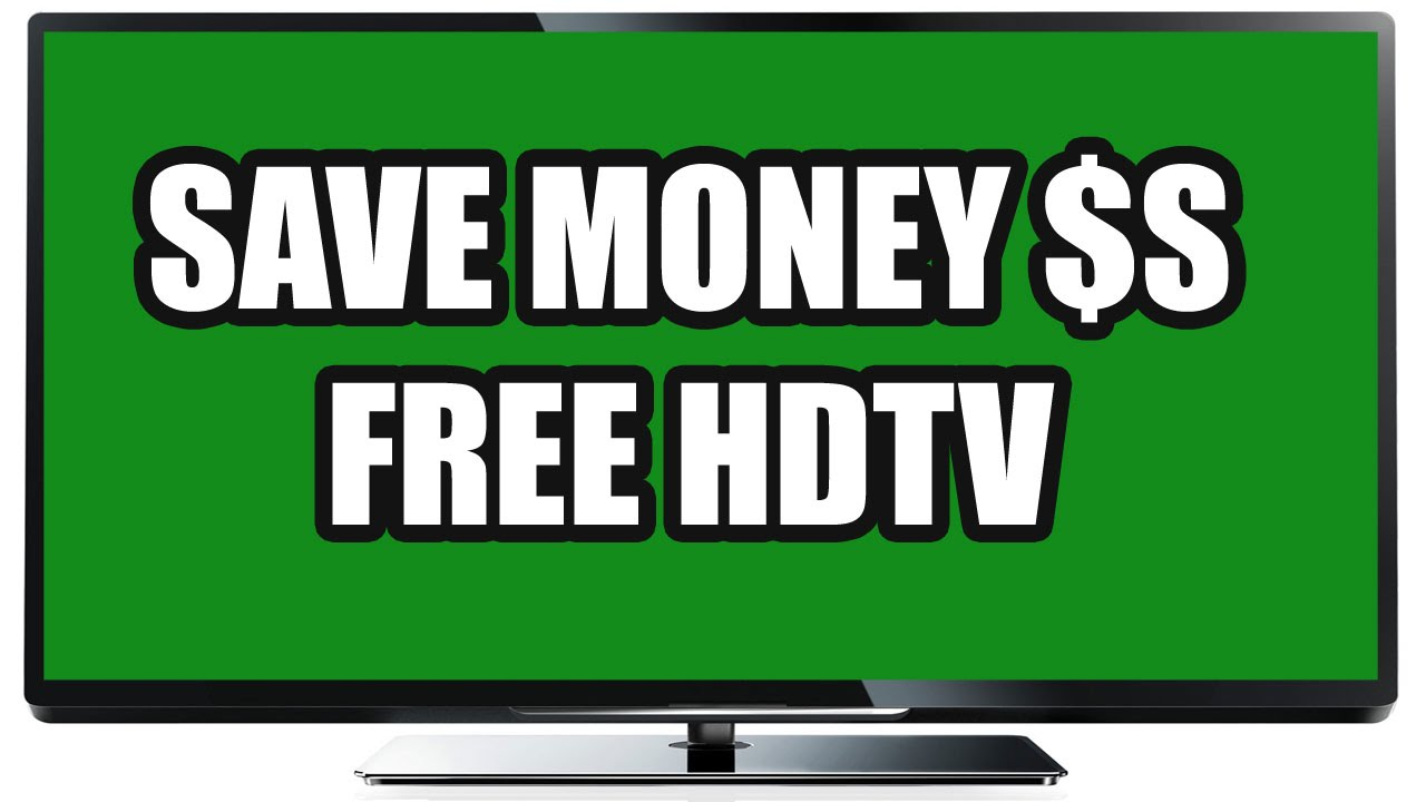 Free HDTV shows with antenna TV - Save $$ money