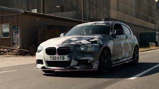 Urban-Camo Half Wrap BMW - T20KTB
