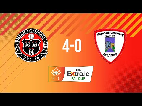 Extra.ie FAI Cup Quarter Final: Bohemians 4-0 Maynooth University Town