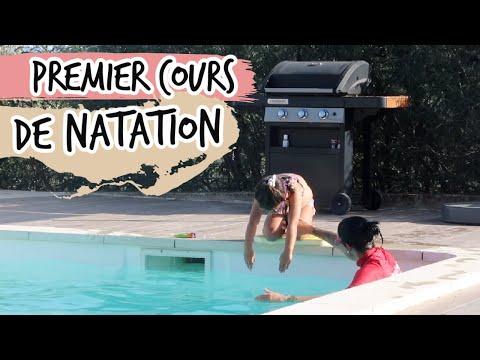 PREMIER COURS DE NATATION [ ELYROSE VLOG ]