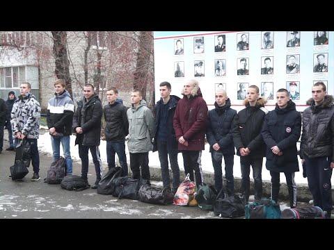 Осенний призыв продолжается. Сегодня 17 мальчишек пополнили войска российской армии