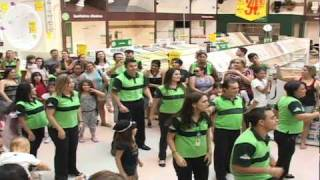 FLASH MOB OFICIAL LEROY MERLIN GOIANIA - 30/04/2011