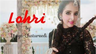 Lohri song   Harbhajan Mann   Asa nu maan watna da   Dance Cover by Divya Chaturvedi