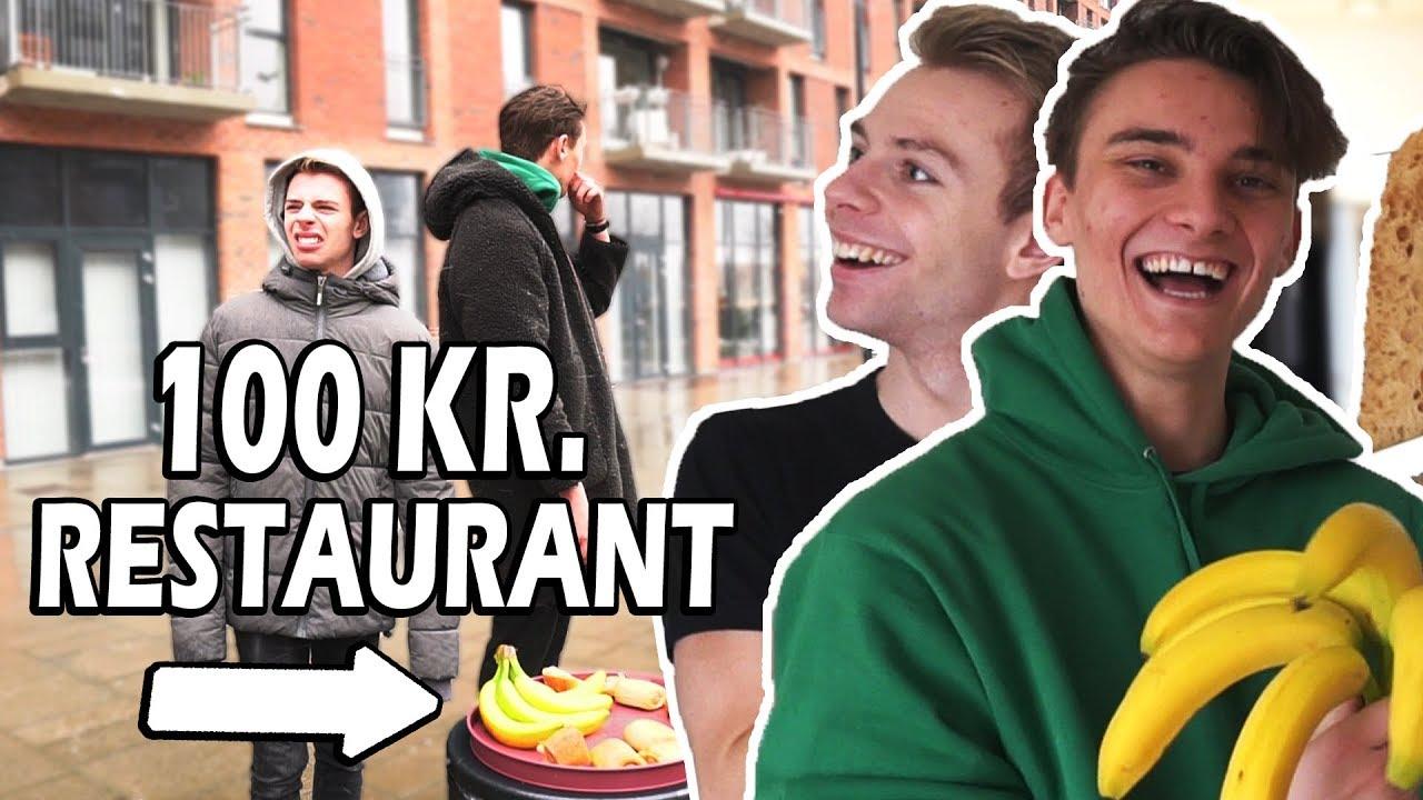 Vi laver en restaurant for under 100 kroner (Med Alexander Husum)