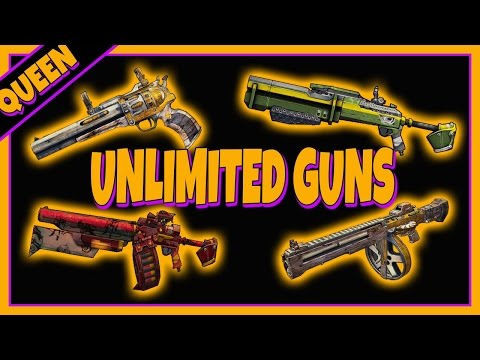 UNLIMITED (Orange) Legendary Grinder GLITCH - Borderlands Pre Sequel