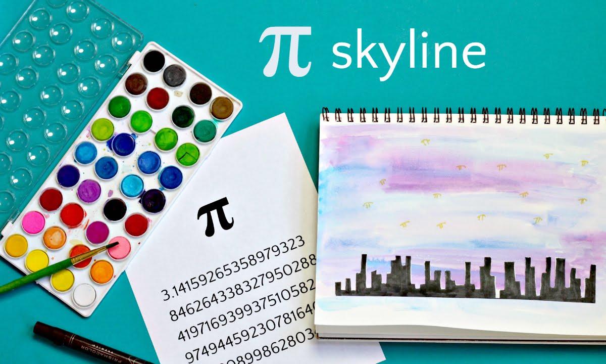 Resultado de imagen de skyline number pi