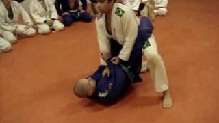 Arlans Siqueira Brazilian Jiu Jitsu – Standing Guard Break With Double Jump