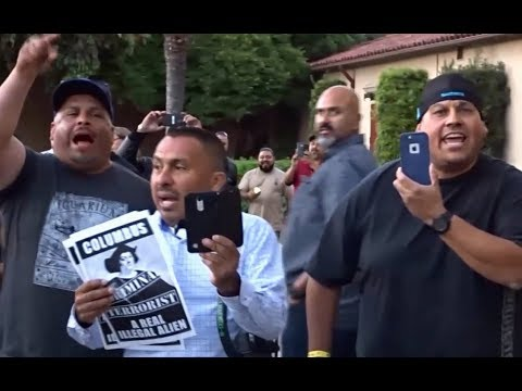 TRUMP WANTS TO GIVE AMNESTY TO ILLEGAL ALIENS. THESE ARE THE PEOPLE HE'S PUTTING AHEAD OF AMERICANS.