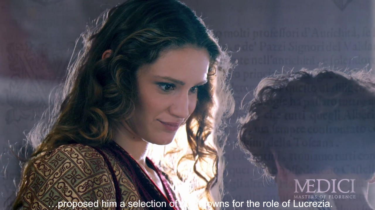 "Annabel Scholey Medici medici: masters of florence - bts - part 22 ""the actresses"""