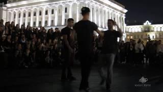 Танцевальные батлы Крещатика,Вечерний Киев часть18 - Dance Battles Khreshchatyk,Kiev Evening part18