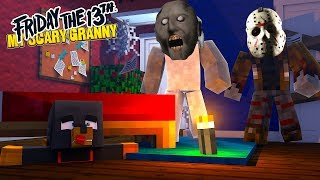 Minecraft - GRANNY HAS A NEW BOYFRIEND - JASON FROM FRIDAY THE THIRTEENTH