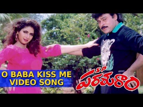 O Baba Kiss MeFull Video Song    SP. Prasuram Telugu Movie    Chiranjeevi, Sridevi