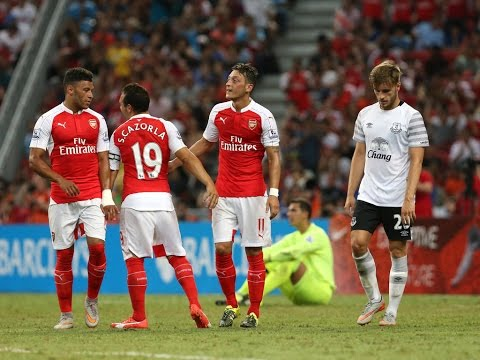 Arsenal vs Everton | Barclays Asia Trophy Final Highlights