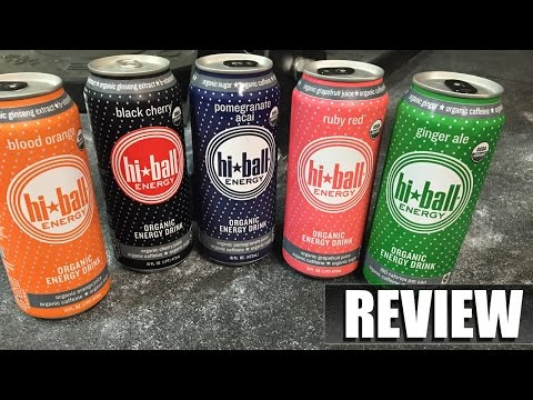 Organic Hi-Ball Energy Drinks Review @EpicBeasts