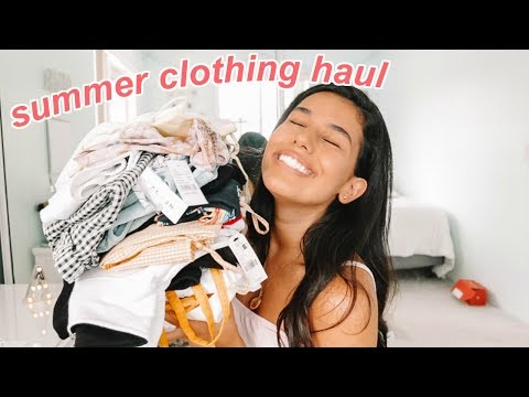 SUMMER TRY-ON CLOTHING HAUL 2018