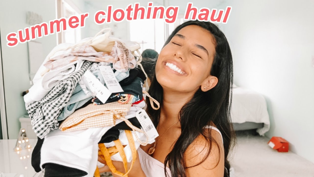 SUMMER TRY-ON CLOTHING HAUL 2018 2