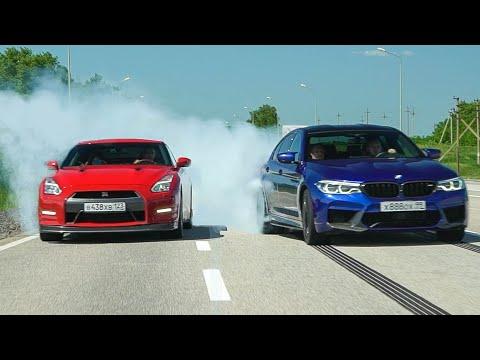 Японцы делают вещи. BMW M5 800 лс и NISSAN GT-R 700 лс