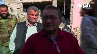 ليبيا . .حي قنفودة الاستراتيجي مدمرا بعد تحريره من المتطرفين