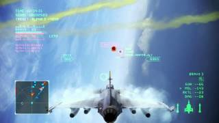 Ace Combat Infinity - Naval TDM - Dogfight vs ROGUE_HUNTER_