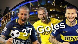 Los 37 goles de Benedetto en Boca (Antes de su lesión)
