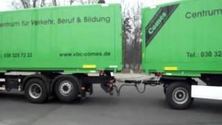 VerkehrsBildungsCentrum Comes - Grundfahraufgabe CE Umkehren - März 2011