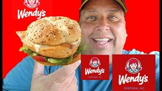 Wendy's® New Grilled Chicken Sandwich REVIEW!