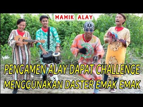 Pengamen Alay Dapat Challenge Ngamen Pake Daster Auto Kocak Tingkah Mamik