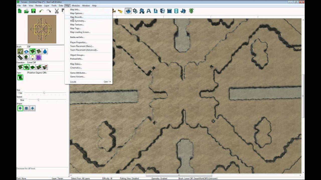 Map Editor Starcraft HoTs Symmetry 2013