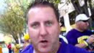 Racist LSU fans @ BCS Bowl,  2008
